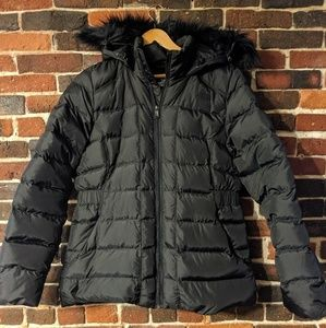The North Face down winter coat